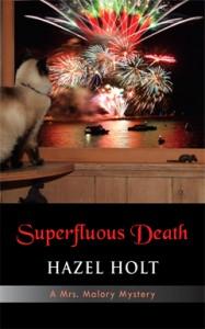 Superfluous Death, Hazel Holt, Mrs. Malory, Mystery, Series