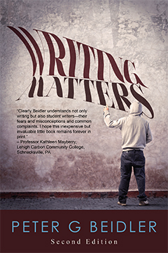 Writing Matters by Peter G. Beidler