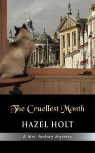 The Cruellest Month, Hazel Holt, Mrs. Malory, Mystery, Series, April