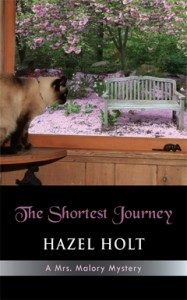 The Shortest Journey, Hazel Holt, Mrs. Malory, Mystery, series